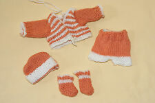 Cute Vintage Barbie Skipper Doll Size Homemade Knit Outfit