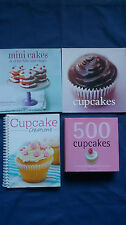 Cookbook Bulk Lot 500 CUPCAKES Fergal Connolly MINI CAKES Hannah Miles + 2 MORE