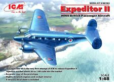 BEECHCRAFT (C-45 F) EXPEDITOR II (RAF & ROYAL NAVY MARKINGS)  1/48 ICM