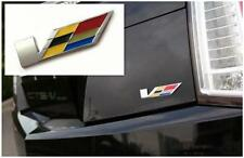 V Emblem Badge Sticker Car Rear Trunk Decal For Cadillac CTS SRX STS ATS XLR SLS