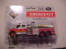 INTERNATIONAL TOWNSHIP 3 AXLE CREW CAB FIRE TANKER WITH PUMP TRUCK BY BOLEY NEW
