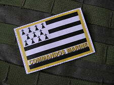 Patch Velcro - COMMANDOS MARINE BRETAGNE - COS FRANCE BREIZH - Article FANTAISIE