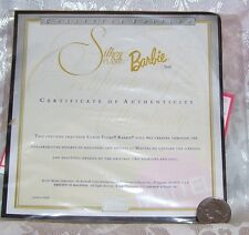MATTEL SILKEN FLAME REPRO BARBIE DOLL CERTIFICATE OF AUTHENTICITY COA ONLY