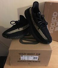 Adidas x Kanye West Yeezy Boost 350 V2 SPLY Green/Black UK9 US9.5 100%Authentic