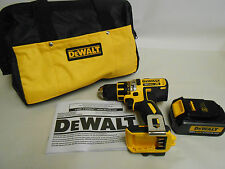 NEW DeWALT DCD790 20V Max XR Cordless Drill-Driver w/ one DCB200 Batteries, Bag