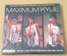 Maximum Kylie Interview Picture Disc Cd & Poster Set! SEALED!!