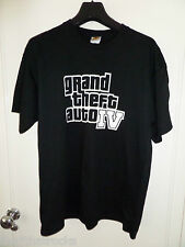$$$$$$ GRAND THEFT AUTO IV T-SHIRT LARGE $$$$$ ROCKSTAR GAMES $$$$$