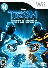 TRON EVOLUTION BATTLE GRIDS Nintendo Wii Game