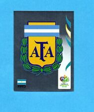 PANINI-GERMANY 2006-Figurina n.170- SCUDETTO/BADGE - ARGENTINA -NEW BLACK