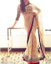 Saree Exclusive Beautiful Designer Bollywood Indian SAREE Partywear Sari 102