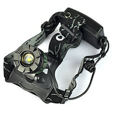 Rechargeble 2500LM XM-L T6 LED Zoomable 18650 Headlamp Headlight Torch Head Lamp