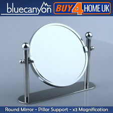 Blue canyon chrome baignoir pilier miroir de grossissement de x3