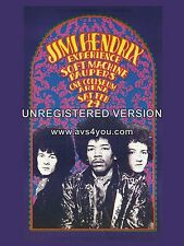 "Jimi Hendrix One Coliseum 16"" x 12"" Photo Repro Concert Poster"