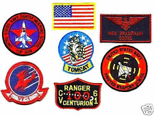 TOPGUN TOP GUN GOOSE NAME TAG FLIGHT SUIT PATCH SET