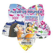 polynesia 2016 polynesie Plum Flower - Fleur de Prunier - Pflaumenblüte  ms1v **