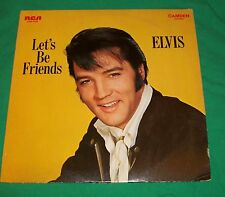 1970 ELVIS PRESLEY LET'S BE FRIENDS 33 LP RECORD ALBUM VTG ROCK N ROLL CLASSIC
