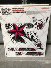 AMR Racing Honda CRF 80/100 MX Graphic Kit Dirt Bike Decals CLOSE OUT 04-10 NSTR