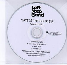 (DV266) Left Step Band, Late Is The Hour EP - 2013 DJ CD