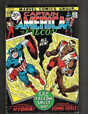 Captain America And The Falcon #144 ~ 1st New Cost. Falcom ~1971 (6.0) WH
