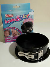 12cm Non-Stick Springform Cake Pan by Original Kaiser. Leak Proof Edge 7646220