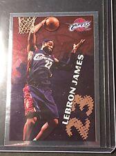 2009-10 PANINI NBA LEBRON JAMES #378 RARE FOIL SP STICKER CARD CLEVELAND CAVS