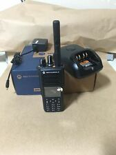NEW XPR7550 MOTOTRBO TWO WAY RADIO MOTOROLA