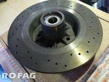 New GENUINE RENAULT SPORT Megane II RS 225 230 R26 rear DRILLED brake disc Brem