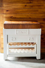 """NEW white BUTCHERS BLOCK end grain 6"""" thick  or ISLAND BENCH - AS  ON MASTERCHEF"""