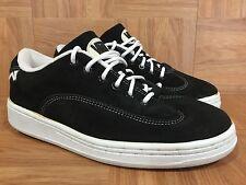 Vintage�� VANS Made In Korea Size 8 Men's Skateboarding Shoes Black Classic