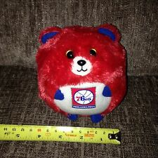 "Collectable Ty Beanie Baby Ballz PHILADELPHIA 76ERS the 5"" NBA Basketball"