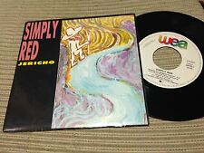 "SIMPLY RED SPANISH 7"" SINGLE SPAIN PROMO WEA 86 - JERICHO"