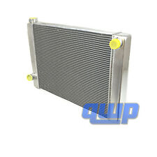 "New Universal Racing Aluminum 2 Rows Radiator for Ford Mopar 28"" x 19"" x3"""