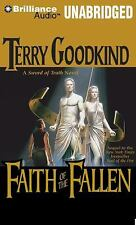 FAITH OF THE FALLEN (Sword of Truth) unabridged audio CD by TERRY GOODKIND 25 CD