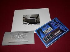 1980 LINCOLN CONTINENTAL BROCHURE + PAINT CHIPS FOLDER & SOUND SYSTEMS CATALOG
