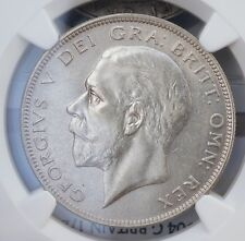 1929 UK Great Britain Halfcrown NGC MS62 UNC Silver Half Crown Coin