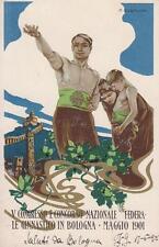 A6429) BOLOGNA 1901, V CONGRESSO CONCORSO GINNASTICO. ILL. DUDOVICH. VG. 1901.