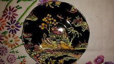 Royal Winton Grimwades Pekin-Black Cup and  Saucer