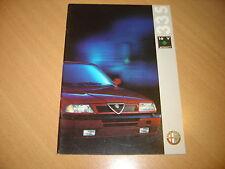 CATALOGUE Alfa Romeo 33 S 16V Permanent 4 de 1991