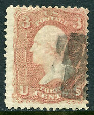 US Lot 2736 US Postage 1861 Scott A25 65 NG 3 Cents Rose Stamp