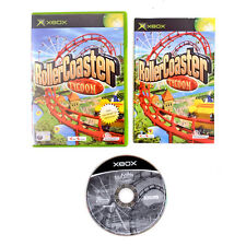 Rollercoaster Tycoon For Original Microsoft Xbox. Complete PAL.