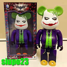 Medicom 400% Bearbrick ~ DC Comics The Joker Be@rbrick Why So Serious Batman