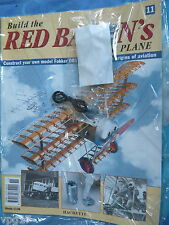 BUILD THE RED BARON'S FIGHTER PLANE FOKKER DR1  HACHETTE  ISSUE 11  NEW SEALED