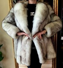 White Shadow  Fox  Fur Jacket/Coat