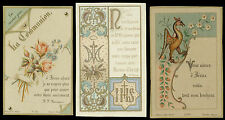 lotto santini-holy cards lot-lot images pieuses-konvolut heiligenbildichen 2510