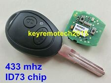Complete 2B remote key 433Mhz ID73 chip Fit for Landrover Discovery remote key