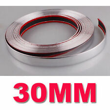 49ft Durable 30MM x 15M Silver Car Chrome Styling Decoration Moulding Trim Strip