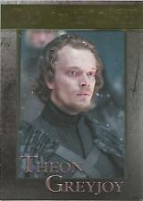 "Game of Thrones Season 5 - No. 32 ""Theon"" GOLD Parallel Base Card #061/150"