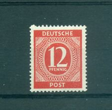 GERMANY ALLIED OCCUP. American British & Soviet  Z. 1946 Mi. 919a 12Pf