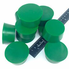 "(10) 1 5/8"" x 2"" #10 High Temp Silicone Rubber Plugs Powder Coating Paint E-Coat"
