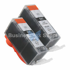 2 PGI-225 BLACK Ink for Canon Printer PIXMA MX712 MX882 MX892 iP4820 PGI-225BK